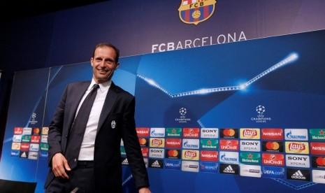 Allegri Puji Pasukan Juventus Usai Eliminasi Barcelona