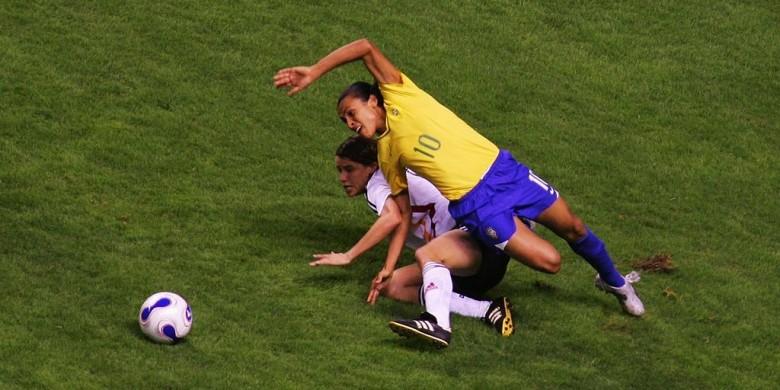 Marta Menolak Status Ikon Sepak Bola Wanita