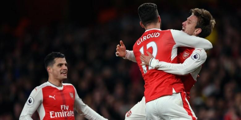 Berkat Gol Bunuh Diri, Arsenal Naik Satu Peringkat