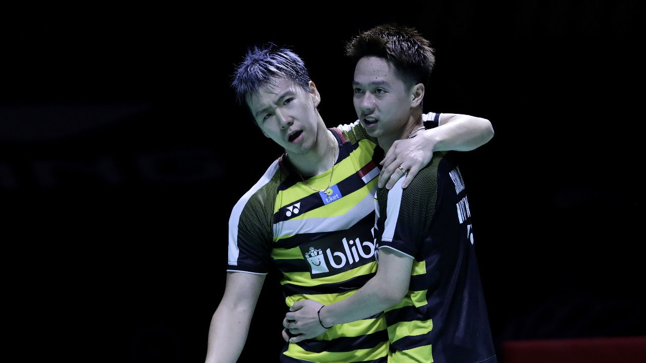 Marcus/Kevin Mundur dari BWF World Tour Finals 2018