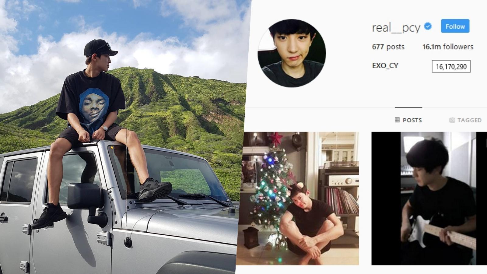 Chanyeol Geser Posisi G-Dragon dengan Followers Instagram Terbanyak