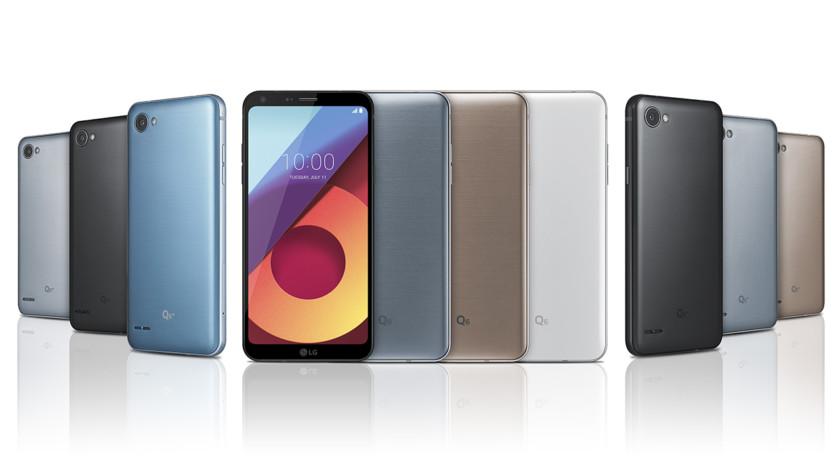 LG Resmi Perkenalkan Ponsel Q6