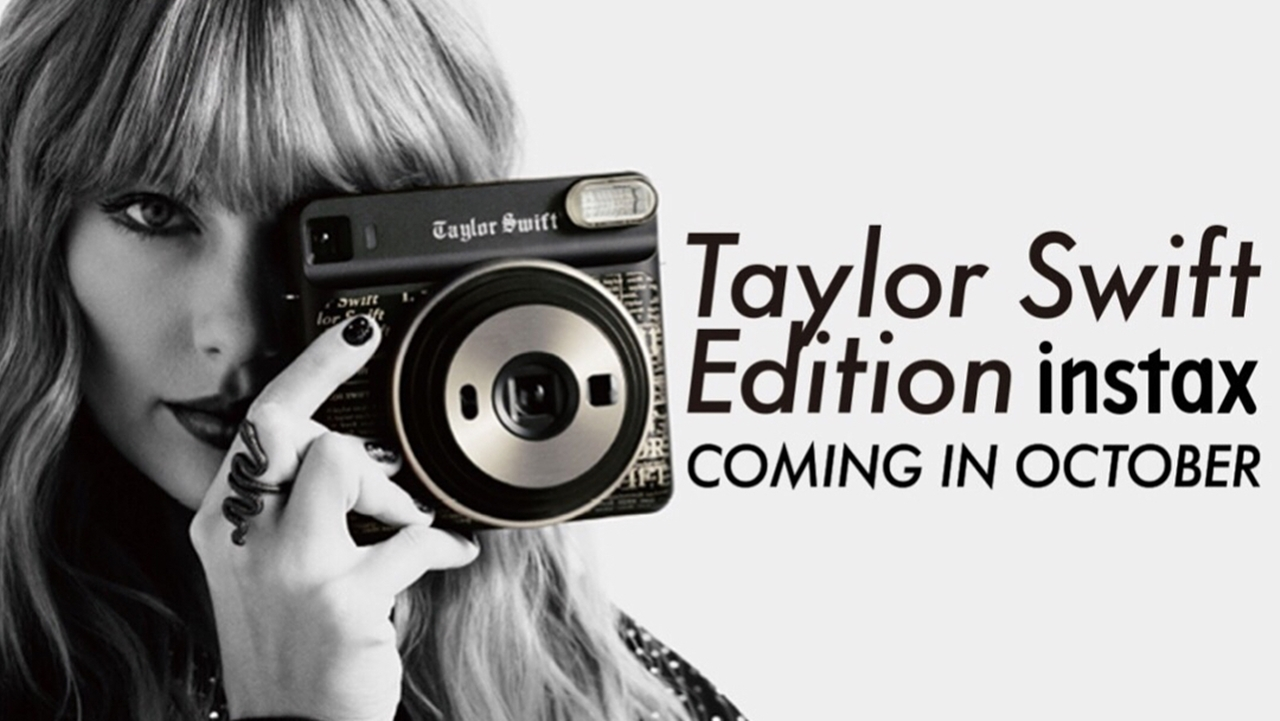 Fujifilm Bikin Kamera Instax Edisi Taylor Swift