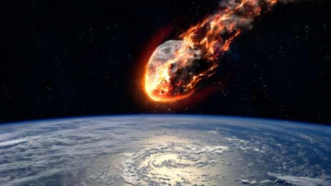NASA: Ribuan Ton Meteor Meledak di Atas Laut Bering