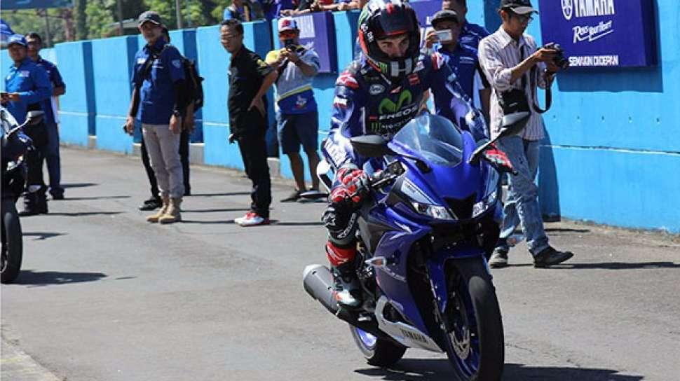 Kesan Vinales Jajal All-New Yamaha R15