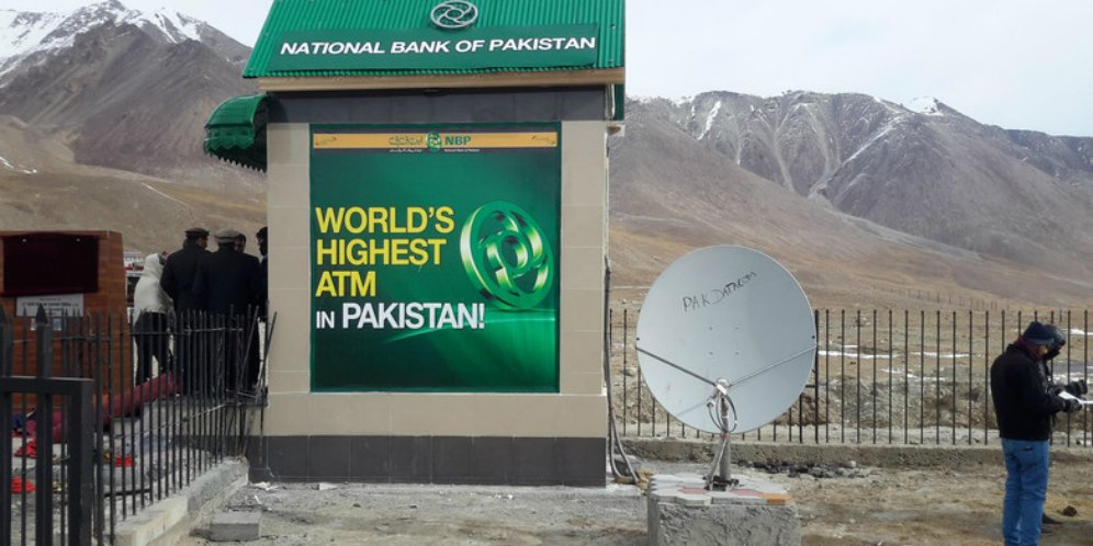 Inilah ATM Tertinggi di Dunia