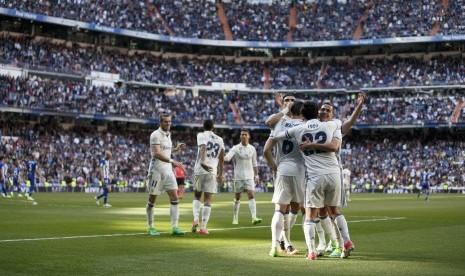 Real Madrid Amankan Puncak Klasemen La Liga