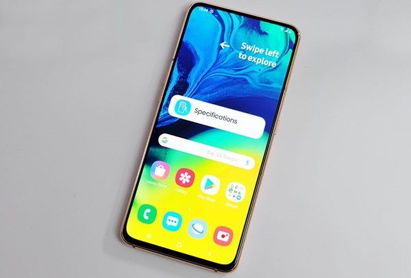 Samsung Galaxy A90 Punya Kamera Pop-up dan Berputar?