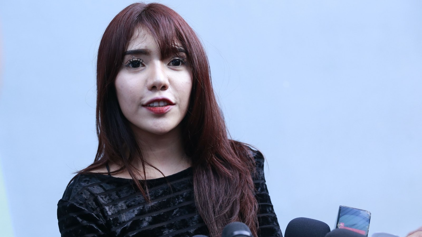 Model Beby Shu Kaget Ada Namanya di Daftar Prostitusi Online
