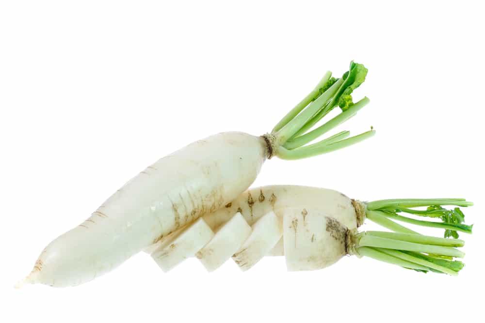6 Manfaat Lobak Putih