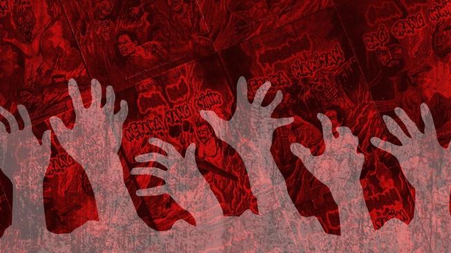 Komik Siksa Neraka: Saleh Belum Tentu, tapi Pasti Bikin Ngeri