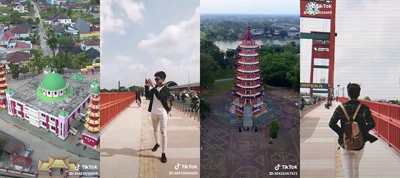Asian Games 2018 dan Tik Tok Promosikan Wisata Palembang