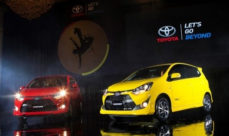 Toyota Bawa The New Agya ke IIMS