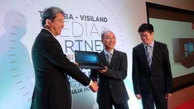 Toshiba Tawarkan Laptop Tipis bagi Pebisnis