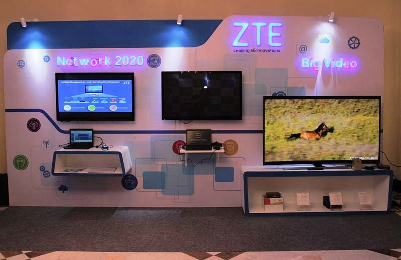 ZTE Pamer 5G di Jakarta